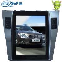 Штатная магнитола Toyota Camry 2006-2011 LeTrun 1918 Android 4.4.4 экран 12 дюймов
