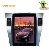 Штатная магнитола Toyota Camry 2006-2011 LeTrun 1918 9.75 дюйма Android 7.x Tesla