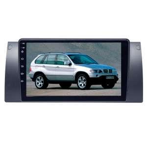 Штатная магнитола для BMW 5 series E39 E53(X5) LeTrun 3153-2934 9 дюймов KD Android 8.x MTK 4G 2+16 Gb