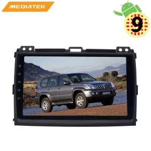 Штатная магнитола Toyota Land Cruiser Prado 120 2002-2009 г. LeTrun 2966 KDKD Android 9.x MTK-L
