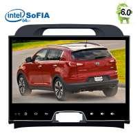 Штатная магнитола Kia Sportage LeTrun 2149 Android 6.0.1 Intel экран 10 дюймов