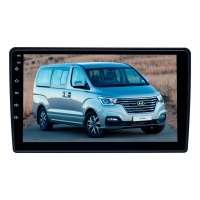 Штатная магнитола для  Hyundai Grand Starex 2007-15, H1, i800, iMax 2008-15 (черный) LeTrun 3745-3872 9 дюймов XY Android 9.x MTK-L 2+16 Gb ++
