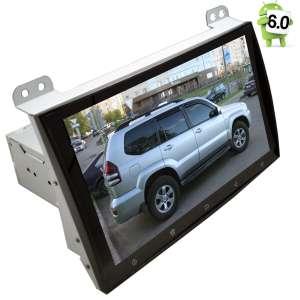 Штатная магнитола Toyota Prado 120 LeTrun 1560 Android 6.0.1 экран 9 дюймов