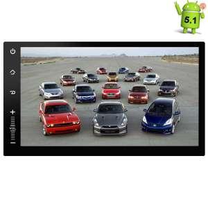 2 DIN Универсальная магнитола Carpad 4 LeTrun 1843 Android 5.1 с регистратором в комплекте
