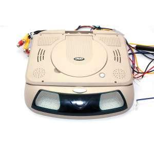 Потолочный монитор DS-998 9 дюймов 1262 DVD-SD-USB бежевый
