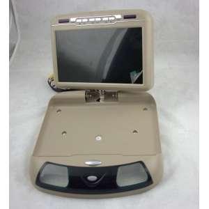 Потолочный монитор DS-998 9 дюймов DVD-SD-USB бежевый