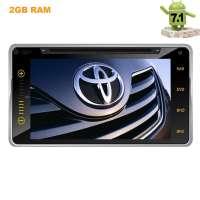 Штатная магнитола Toyota универсальная 200*100 LeTrun 2055 Android 7.1.1