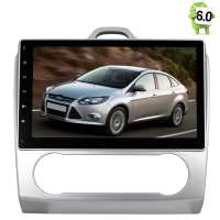 Штатная магнитола Ford Focus 2 (c климатом) каншина LeTrun 1797 Android 6.0.1 Alwinner экран 10,2``
