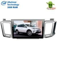 Штатная магнитола Toyota RAV4 с 2013 г. LeTrun 2194 Android 7.1.1 Alwinner T3 экран 10,2 дюйма