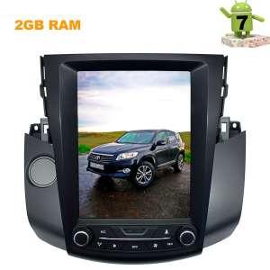Штатная магнитола Toyota RAV4 2006-2012 г. LeTrun 2790 10 дюймов Android 7.x Tesla