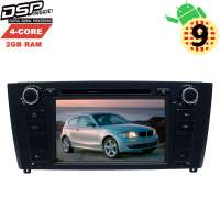 Штатная магнитола BMW 1 series E81 с 2007 до 2012 года LeTrun 2791 GS Android 9.x DSP