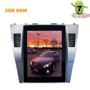Штатная магнитола Toyota Camry 2006-2011 LeTrun 2798 KSP 9.75 дюйма Android 9.x Tesla