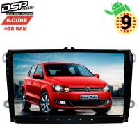 Штатная магнитола Volkswagen Polo, Jetta, Passat, Tiguan LeTrun 2809 GS Android 9.x DSP 6 ядер 4+64