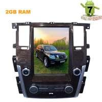 Штатная магнитола Nissan Patrol LeTrun 2918 ZF Android 7 экран 12 дюймов Tesla