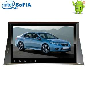 Штатная магнитола Honda Accord 8 LeTrun 1844 Intel Android 5.1 экран 10,2 дюйма
