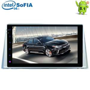 Штатная магнитола Kia Optima K5 c 2016 года LeTrun 1845 Intel Android 5.1 экран 9 дюймов