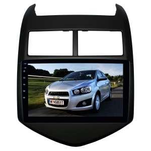 Переходная рамка для Chevrolet Aveo c 2011 года LeTrun 2786  под базовую магнитолу 9 дюймов