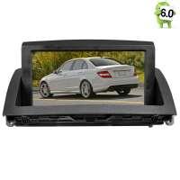 Штатная магнитола Mercedes C класс 2007-2011 W204 LeTrun 1766 Android 6.0.1 экран 8 дюймов