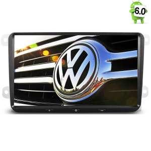 Штатная магнитола Volkswagen Polo, Jetta, Passat, Tiguan 9 дюймов Android 6.0.1 LeTrun 1706