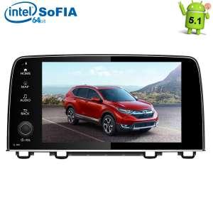 Штатная магнитола Honda CRV с 2017 г LeTrun 1942 HH Android 5.1 экран 10,2 дюйма