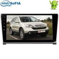 Штатная магнитола Honda CRV 07-12 г LeTrun 1525 Android 5.1 экран 10,2 дюйма