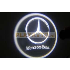 Проекторы логотипа в двери для  Mercedes Benz