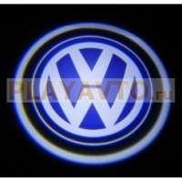 Проекторы логотипа в двери для  VW