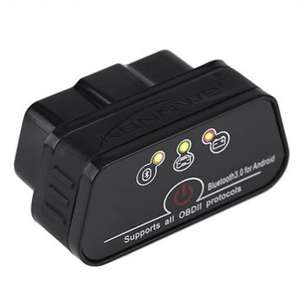 OBD адаптер Konnwei Bluetooth LeTrun 0206