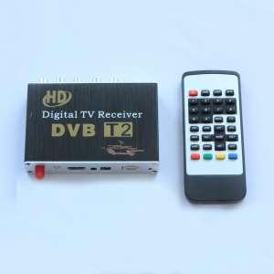 Автомобильный DVB-T2 тюнер цифрового телевидения до 60км-ч LeTrun 0244