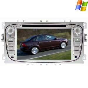Штатная магнитола Ford Focus 2 серый LeTrun 0304