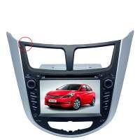 Штатная магнитола Hyundai Solaris LeTrun 0330