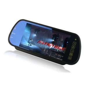 Зеркало заднего вида с монитором LeTrun DS-756 7дюймов SD USB подключение камеры