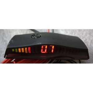 Парктроник LeTrun PT-035C4 миниатюрный дисплей 8 датчиков