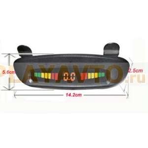 Парктроник LeTrun PT-037M LED дисплей на козырек
