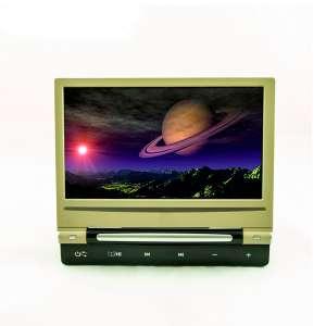Навесной монитор на подголовник 9 дюймов LeTrun DS-998DVD DVD-SD-USB бежевый