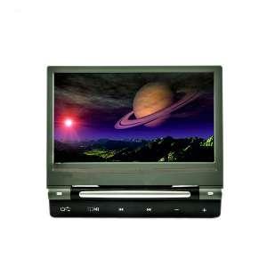 Навесной монитор на подголовник 9 дюймов LeTrun DS-998DVD DVD-SD-USB серый