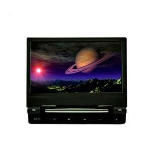 Навесной монитор на подголовник 9 дюймов LeTrun DS-998DVD DVD-SD-USB черный