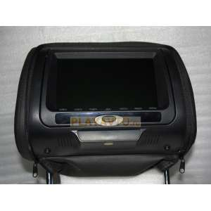 Подголовник с монитором 7 дюймов черный LeTrun 771 DVD-SD-USB