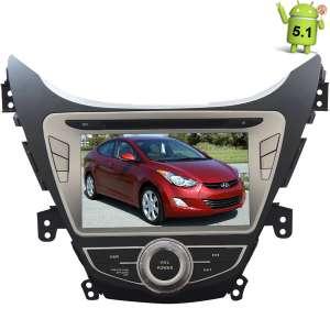 Штатная магнитола Hyundai Elantra, Avante 2011-2014 Android 5.1.1 LeTrun 1662