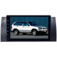 Штатная магнитола BMW X5 E53, 5-series E39 LeTrun 3360 GS PX 30 Android 10 9 дюймов 2+16 Gb