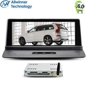 Штатная магнитола Volvo XC90 2002-2013 LeTrun 2117 Android 6.0.1 экран 8.8 дюйма Alwinner T3