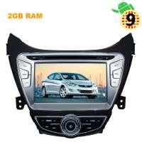 Штатная магнитола Hyundai Elantra 2010-2013 г., Avante 2011-2013 г. Android 9.x LeTrun 2724