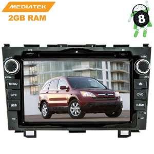 Штатная магнитола Honda CRV c 2007 до 2011 года LeTrun 2731 KD Android 9.x MTK-L