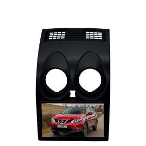 Переходная рамка для Nissan Qashqai до 2014 года LeTrun 2741  под базовую магнитолу 9 дюймов