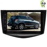 Штатная магнитола Toyota RAV4 2006-2012 LeTrun 1771 Android 6.0.1 экран 8 дюймов