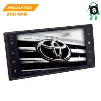 Штатная магнитола Toyota универсальная 200*100 LeTrun 2897 KD Android 8.x MTK 4G
