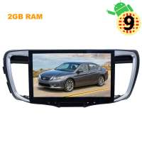 Штатная магнитола Honda Accord с 2013 года  LeTrun 2903 экран 10 дюймов Android 9.x