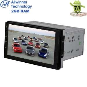 Магнитола 2 DIN универсальная Nissan Qashqai,X-trail и т.д.(до 14г) LeTrun 2107 Android 7.1.1 Alwinner T3