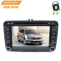 Штатная магнитола Volkswagen Polo, Jetta, Passat, Tiguan LeTrun 2988 KD Android 8.x MTK 4G