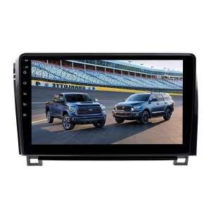 Штатная магнитола для Toyota Tundra, Sequoia 2007-2013 гг. LeTrun 4193-4463 10 дюймов VT Android 10 MTK-L 2+16 Gb ASP ++